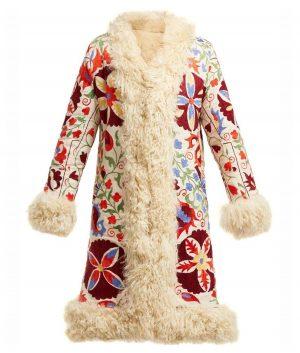 Hannah Floral Coat