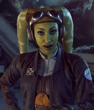 Star Wars Squadrons Hera Syndulla Leather Jacket