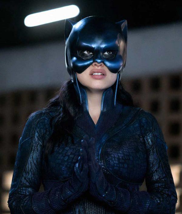 Yvette Monreal Stargirl Wildcat Leather Jacket