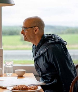 Tusker Supernova Stanley Tucci Jacket With Hood