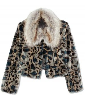 Wynonna Earp Waverly Earp Leopard Jacket