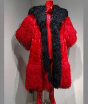 101 Dalmatians Cruella Deville Fur Coat