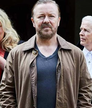 Ricky Gervais After Life Jacket