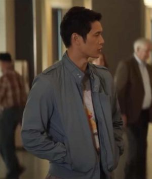 Harry Shum Jr. All My Life Grey Cotton Jacket