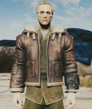 Armor Fallout 4 Brown Leather Jacket