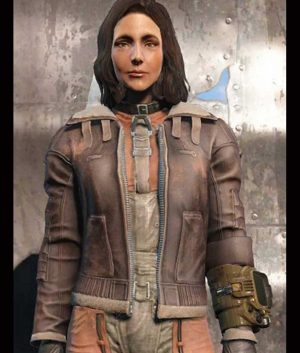 Armor Fallout 4 Brown Jacket