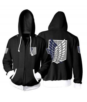 Attack On Titan Hoodie For Unisex