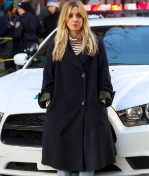 Cassie The Flight Attendant Kaley Cuoco Trench Coat