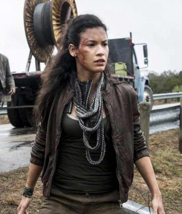 Fear The Walking Dead S04 Luciana Galvez Jacket