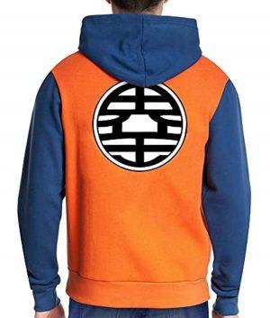 Dragon Ball Z Goku Orange Unisex Hoodie
