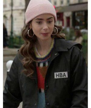 Emily In Paris HBA Logo Jacket