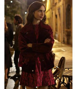 Emily In Paris Lily Collins Jacket