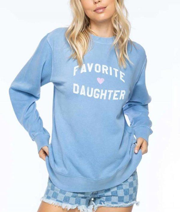Womens Favorite Daughter Sweatshirt