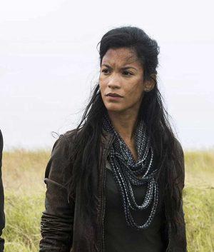 Danay Garcia Fear The Walking Dead S04 Luciana Galvez Leather Jacket