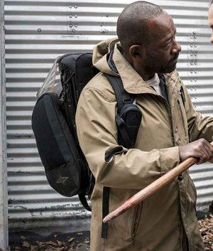 Lennie James Fear The Walking Dead S04 Morgan Jones Hooded Coat