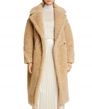 Out Of Her Mind Lucy Tan Teddy Coat