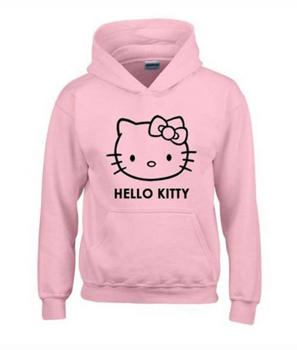 Hello Kitty Hoodie For Unisex