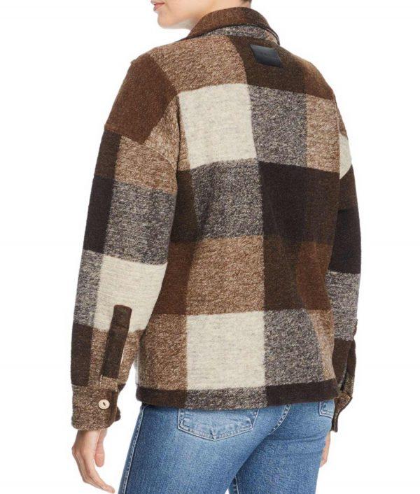 Emma Roberts Holidate Sloane Coat