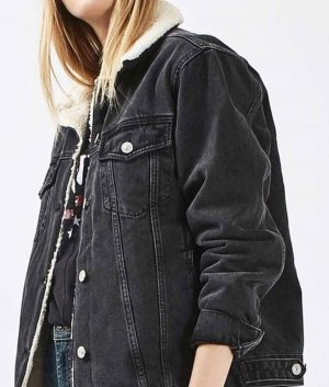 Julie and the Phantoms Flynn Sherpa Denim Jacket