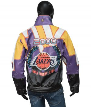 Lakers Jeff Hamilton 2000 Championship Jacket