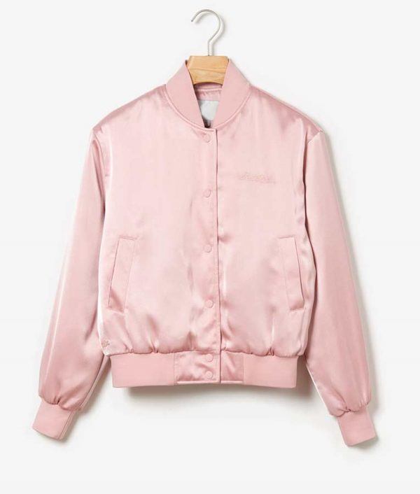 Lily Collins Emily In Paris Emily Copper Pink Jacket