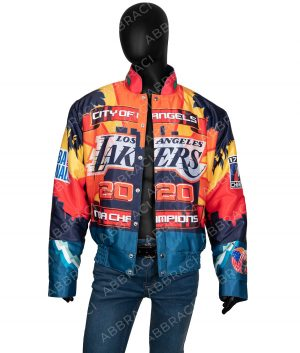 Los Angeles 2020 Lakers Leather Jacket