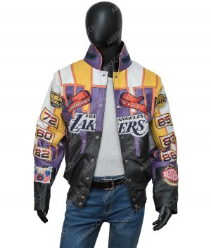 Los Angeles Lakers Jeff Hamilton 2000 Championship Jacket