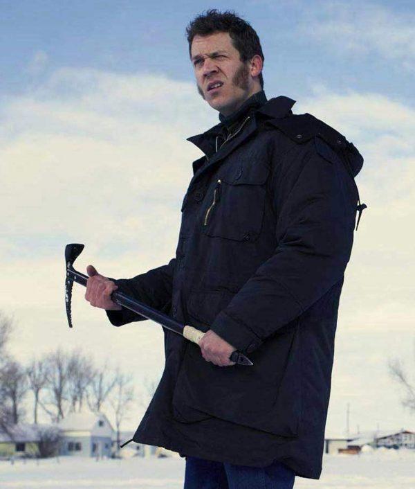 Mr. Wrench Fargo S04 Russell Harvard Black Hooded Jacket