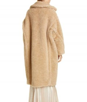 Fiona Button Out Of Her Mind Lucy Tan Teddy Coat