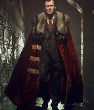 Pennyworth Lord Harwood Velvet Cloak With Fur