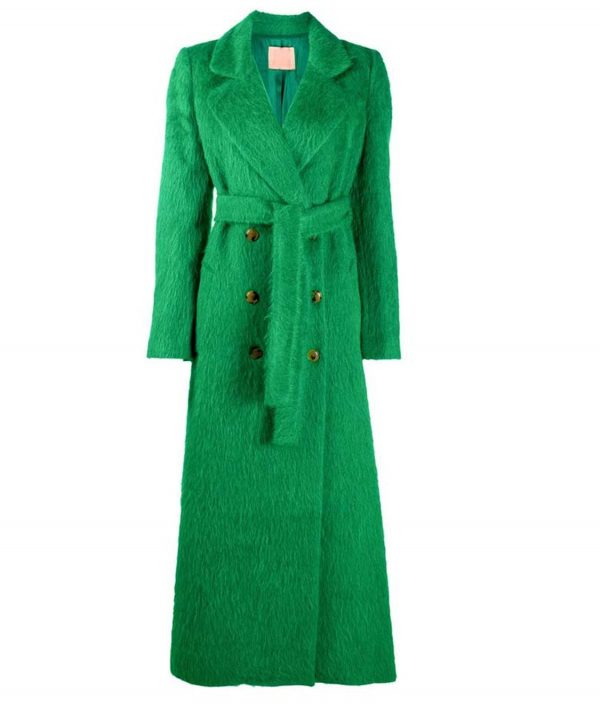 Out Of Her Mind Sara Green Double Breasted Coat