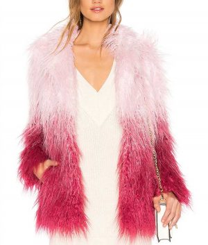Julie and the Phantoms Carrie Faux Fur Jacket