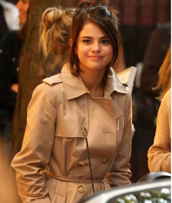 A Rainy Day In New York Selena Gomez Cotton Coat