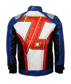 Video Game Overwatch Soldier 76 Leather Jacket