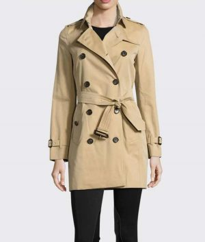 The Haunting of Bly Manor Rebecca Jessel Trench Coat