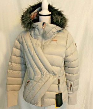 The Pack Lindsey Vonn Puffer Hooded Jacket For Women