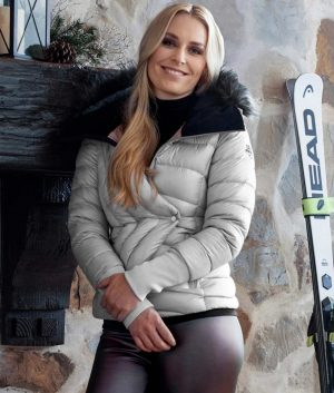 The Lindsey Vonn Puffer Hooded Jacket