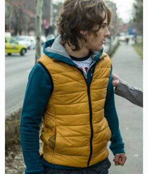 Umbre Season 3 Chuckie Mustard Puffer Vest