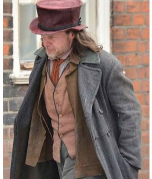 A Christmas Carol Guy Pearce Grey Coat
