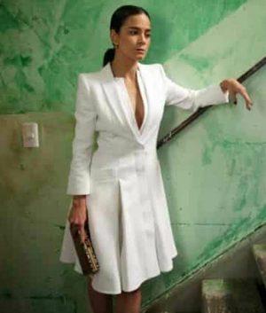 Alice Braga Queen of The South Coat