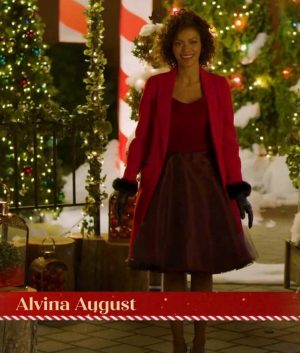 Deliver by Christmas Alvina August Coat
