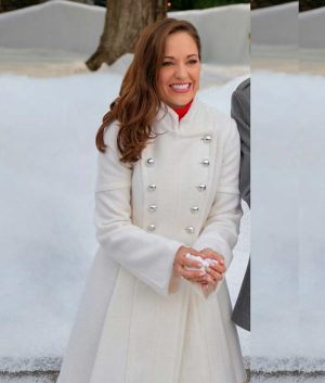 Anna One Royal Holiday White Coat