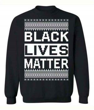 Black Lives Matter Christmas Sweater For Unisex