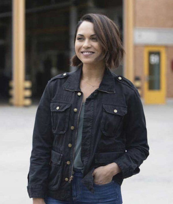 Chicago Fire S08 Gabriela Dawson Cotton Jacket