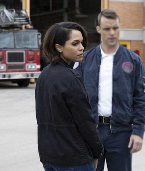 Chicago Fire S08 Gabriela Dawson Cotton Jacket