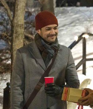 Erik Gallagher Christmas Unwrapped Coat