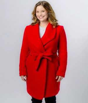 Ashley Williams Christmas in Evergreen Red Coat