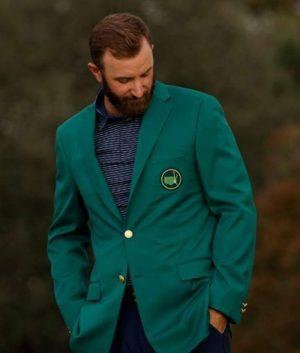 Green Dustin Johnson Jacket