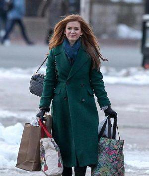 Isla Fisher Godmothered Coat