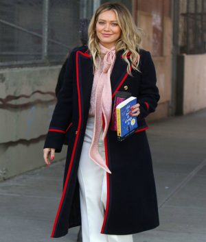 Younger Hilary Duff Wool Coat